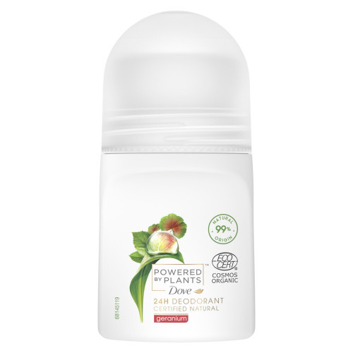 Dove Dove Powered by Plants Roll-on Geranium 50 ml