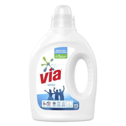 Via Via Flytande tvättmedel White 760 ml
