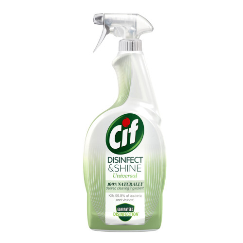 CIF Cif Rengöringsspray Disinfect & Shine Universal 750 ml