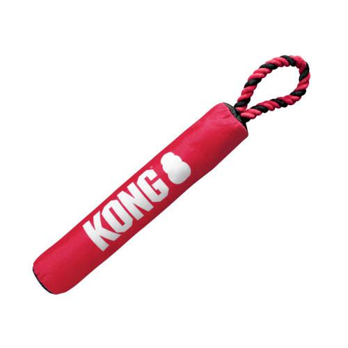 KONG Hundleksak Signature Stick med rep Medium KONG