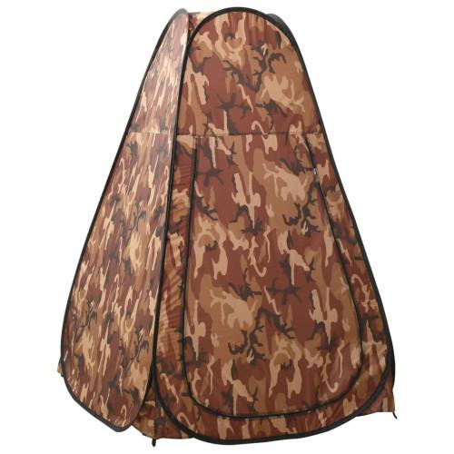 vidaXL Duschtält kamouflage