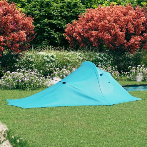 vidaXL Campingtält 317x240x100 cm blå