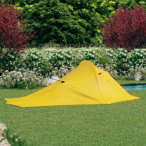 vidaXL Campingtält 317x240x100 cm gul