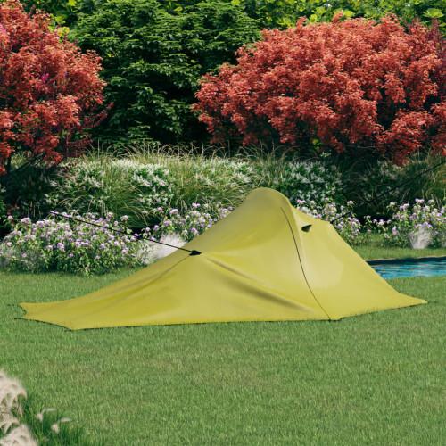 vidaXL Campingtält 317x240x100 cm grön