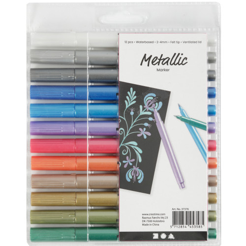 Colortime Metallictusch metallicfärger