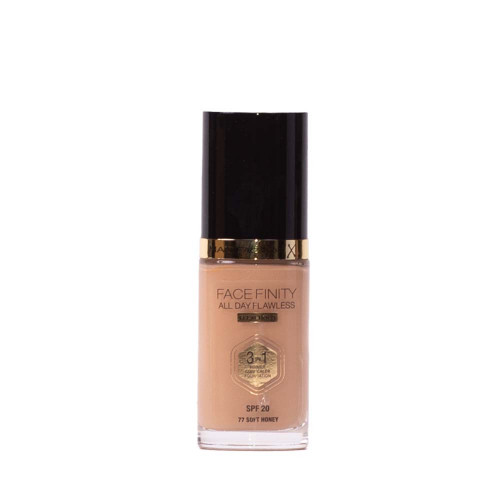 Max Factor Facefinity All Day Flawless Foundation 77 Soft Honey