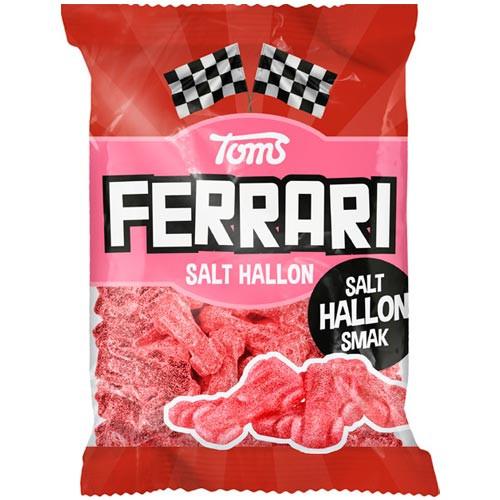 Toms Ferrari Salt Hallon 120 g