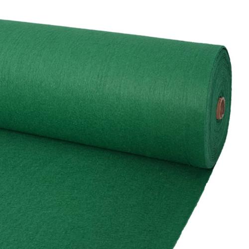vidaXL Mässmatta slät 1,6x12 m grön