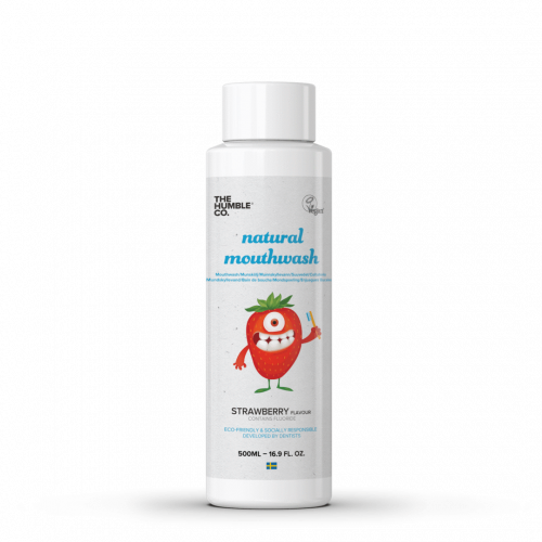The humble co. Humble Natural Mouthwash - Kids Strawberry