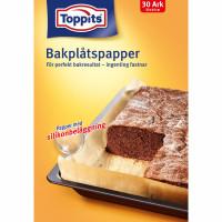 Toppits Bakplåtspapper Ark 33X45cm 30 Ark