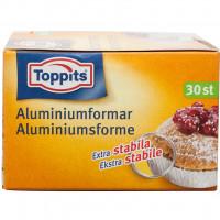 Toppits Bakformar Aluminium 30 st