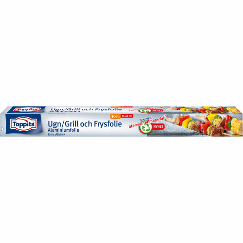 Toppits Ugn, Grill & Frysfolie  10 m