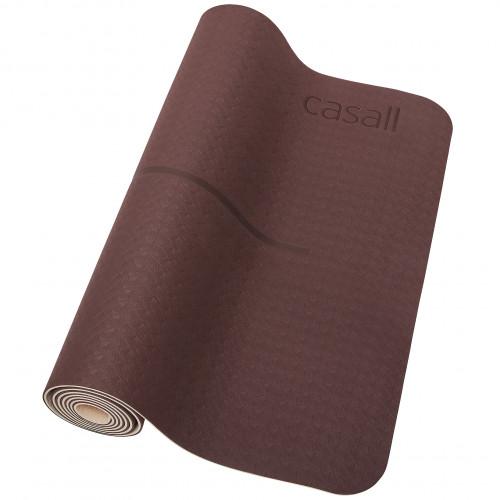 Casall Yoga mat position 4mm Mahagony