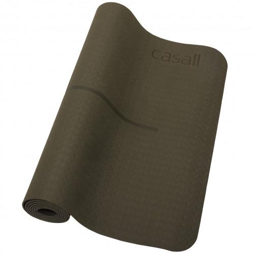 Casall Yoga mat position 4mm Forest G