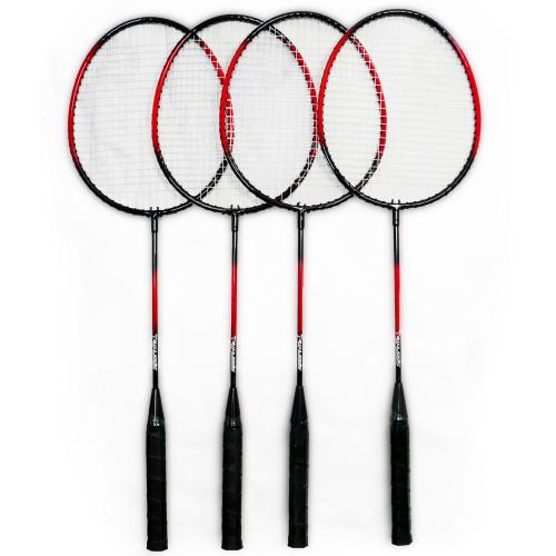 SportMe Badmintonset 4 spelare med nät