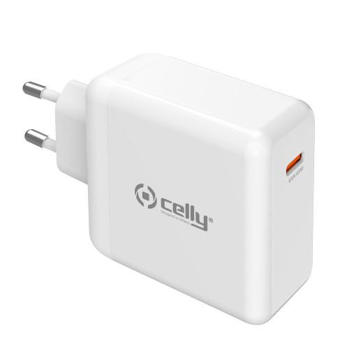 Celly USB-laddare PD USB-C 65W GaN