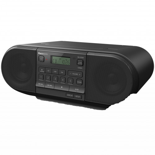 Panasonic Kraftfull bärbar radio med CD,