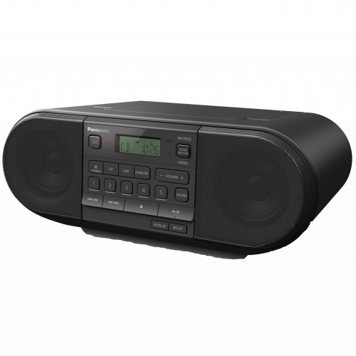 Panasonic Kraftfull radio med DAB+/FM,Bl