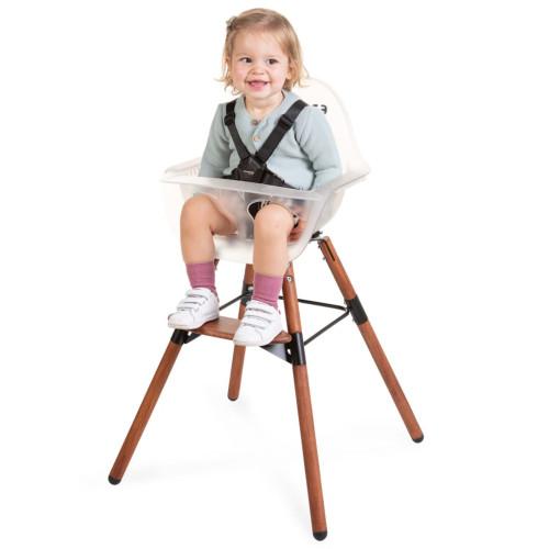 CHILDHOME CHILDHOME 2-i-1-barnstol med stötdämpare Evolu 2 transparent