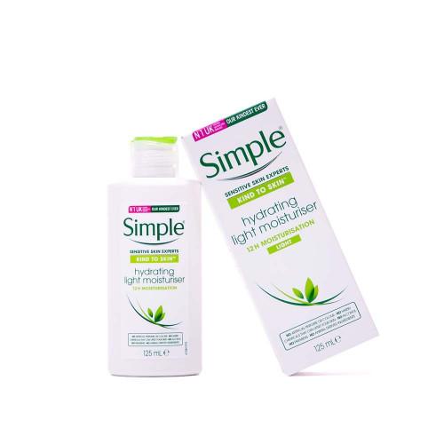Simple Simple - Hydrating Light Moisturiser 125 ml