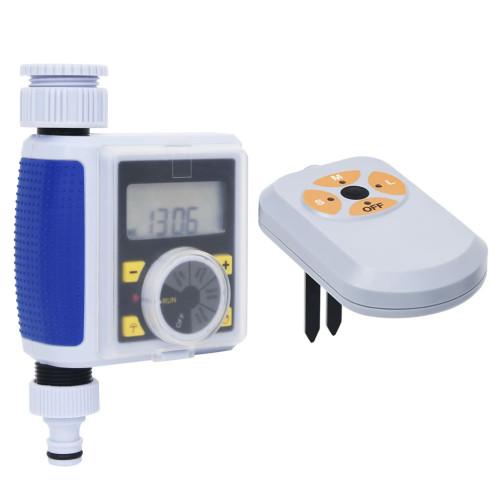 vidaXL Digital bevattningstimer med ett utlopp och fuktsensor