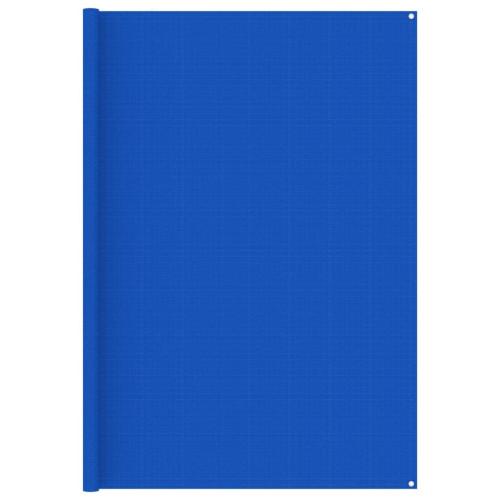 vidaXL Tältmatta 250x550 cm blå