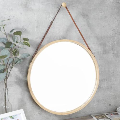 HI HI Väggspegel med bamburam