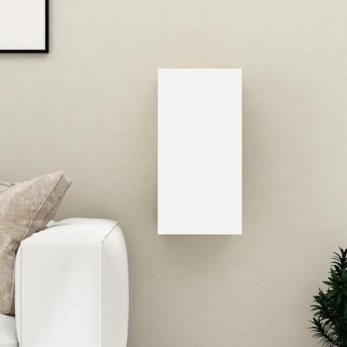vidaXL TV-skåp vit och sonoma-ek 30,5x30x60 cm spånskiva