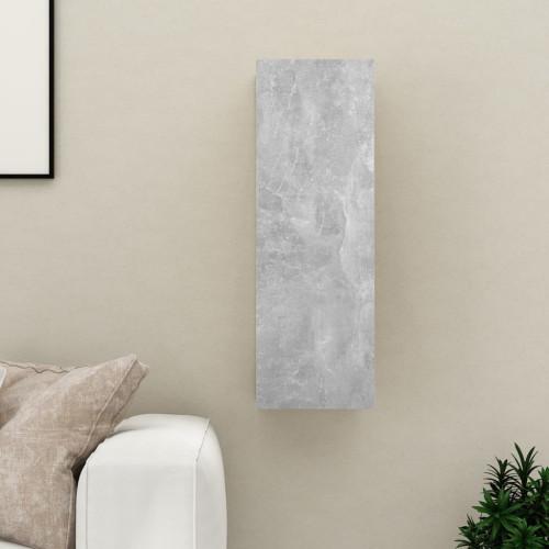 vidaXL TV-skåp betonggrå 30,5x30x90 cm spånskiva
