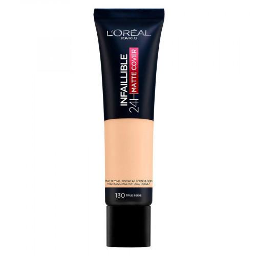 L'Oréal Paris Infaillible 24H Matte Cover 130 True Beige