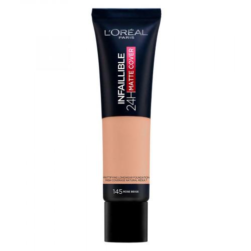 L'Oréal Paris Infaillible 24H Matte Cover 145 Rose Beige