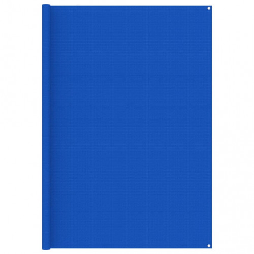 vidaXL Tältmatta 250x300 cm blå