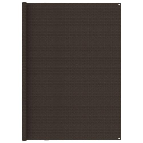 vidaXL Tältmatta 250x500 cm brun