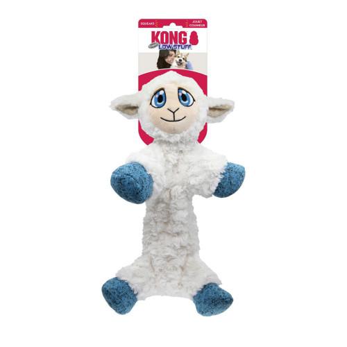 KONG Hundleksak Low Stuff Flopzie Lamb medium KONG 40 cm