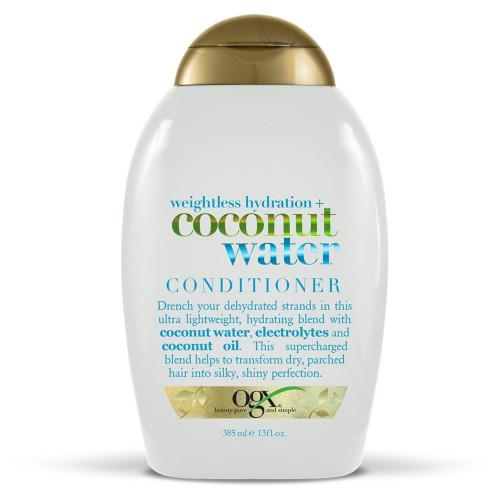 OGX Weightless Hydration Coconut Water Conditioner 385ml
