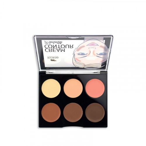 Kokie Cosmetics Kokie Cream Contour Palette - Deep/Dark