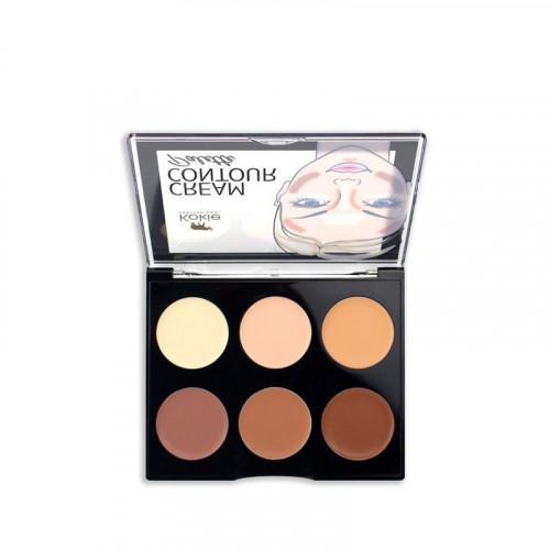Kokie Cosmetics Kokie Cream Contour Palette - Light/Medium