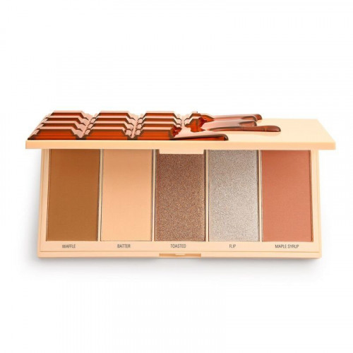 Makeup Revolution Chocolate Face Palette - Waffle