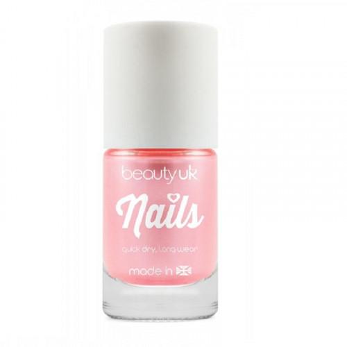 BeautyUK Beauty UK Candy Pearl Nail Polish - Pink