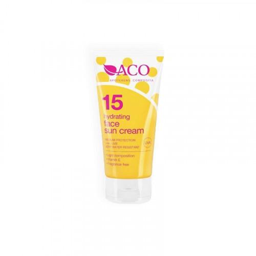 Aco ACO Hydrating Face Sun Cream Spf 15 50ml