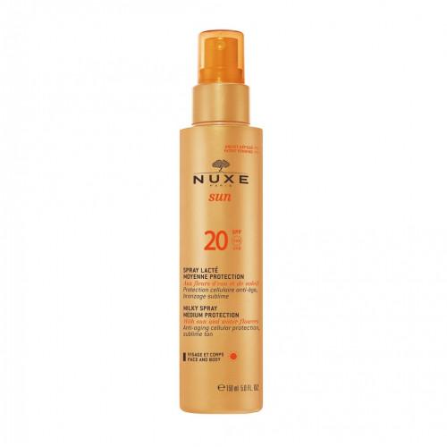 Nuxe NUXE Sun Milky Spray For Face & Body SPF20 150ml