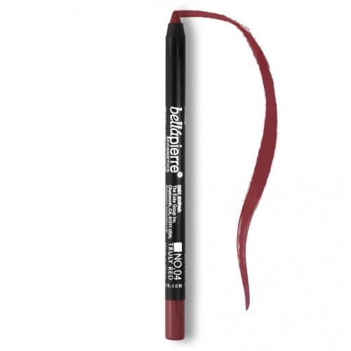 Bellapierre Gel Lip Liner - 04 Truly Red