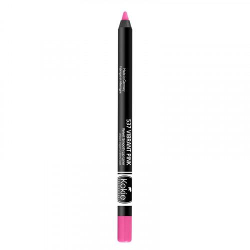 Kokie Cosmetics Kokie Velvet Smooth Lip Liner - Vibrant Pink