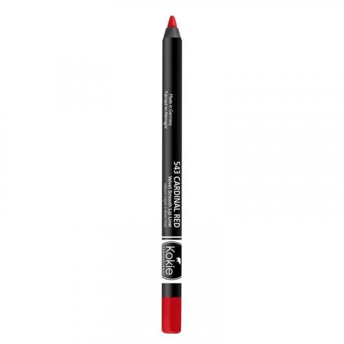 Kokie Cosmetics Kokie Velvet Smooth Lip Liner - Cardinal Red