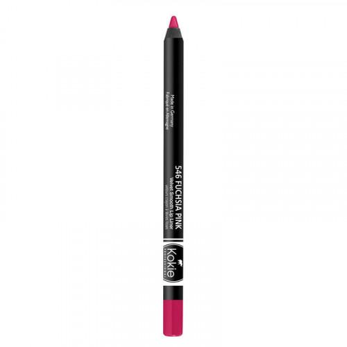 Kokie Cosmetics Kokie Velvet Smooth Lip Liner - Fuchsia Pink