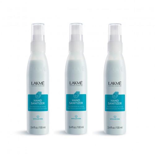 Lakmé 3-pack Lakmé Hand Sanitizer With Aloe Vera 100ml
