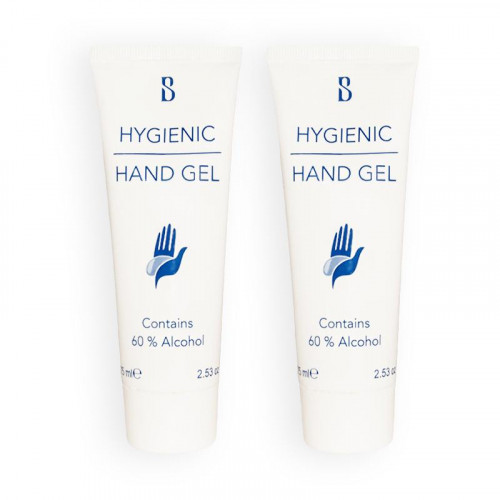 Cleaning Hand Gel 2-pack Brilliant Smile Hygienic Hand Gel With Alcohol 75ml