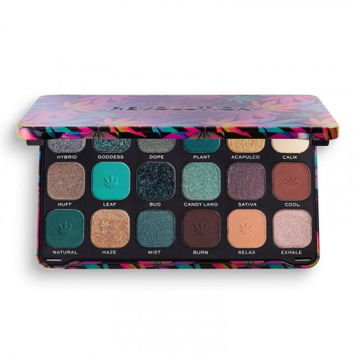 Makeup Revolution Forever Flawless Chilled with Cannabis Sativa Palette