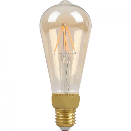 SMARTLINE Filament LED-lampa E27 Edison