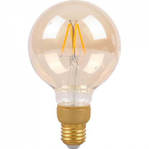 SMARTLINE Filament LED-lampa E27 Stor gl